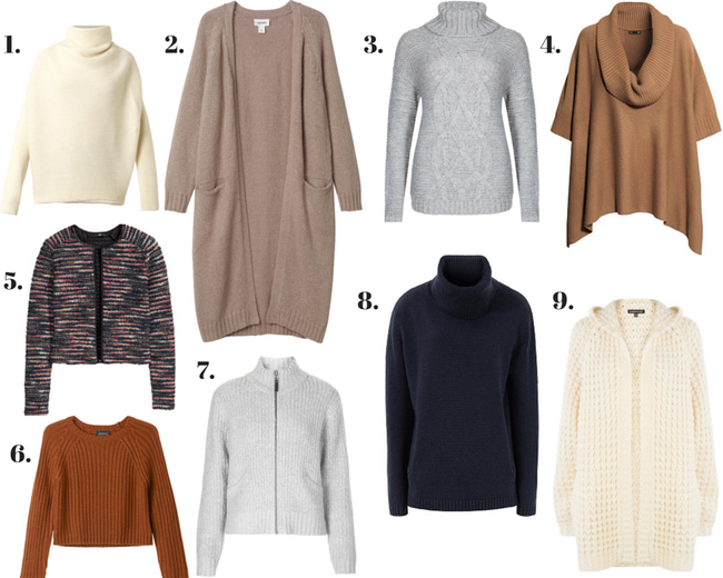 WISHLIST: Autumnal Knitwear | Ses Rêveries