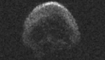 Asteroid Berbentuk Tengkorak Mendekati Bumi, Bahayakah?