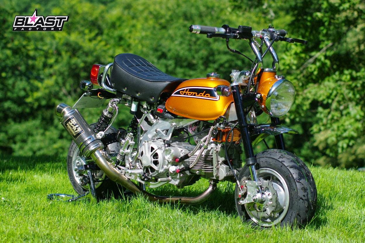 Racing Caf U00e8  Honda Monkey By Blast Factory