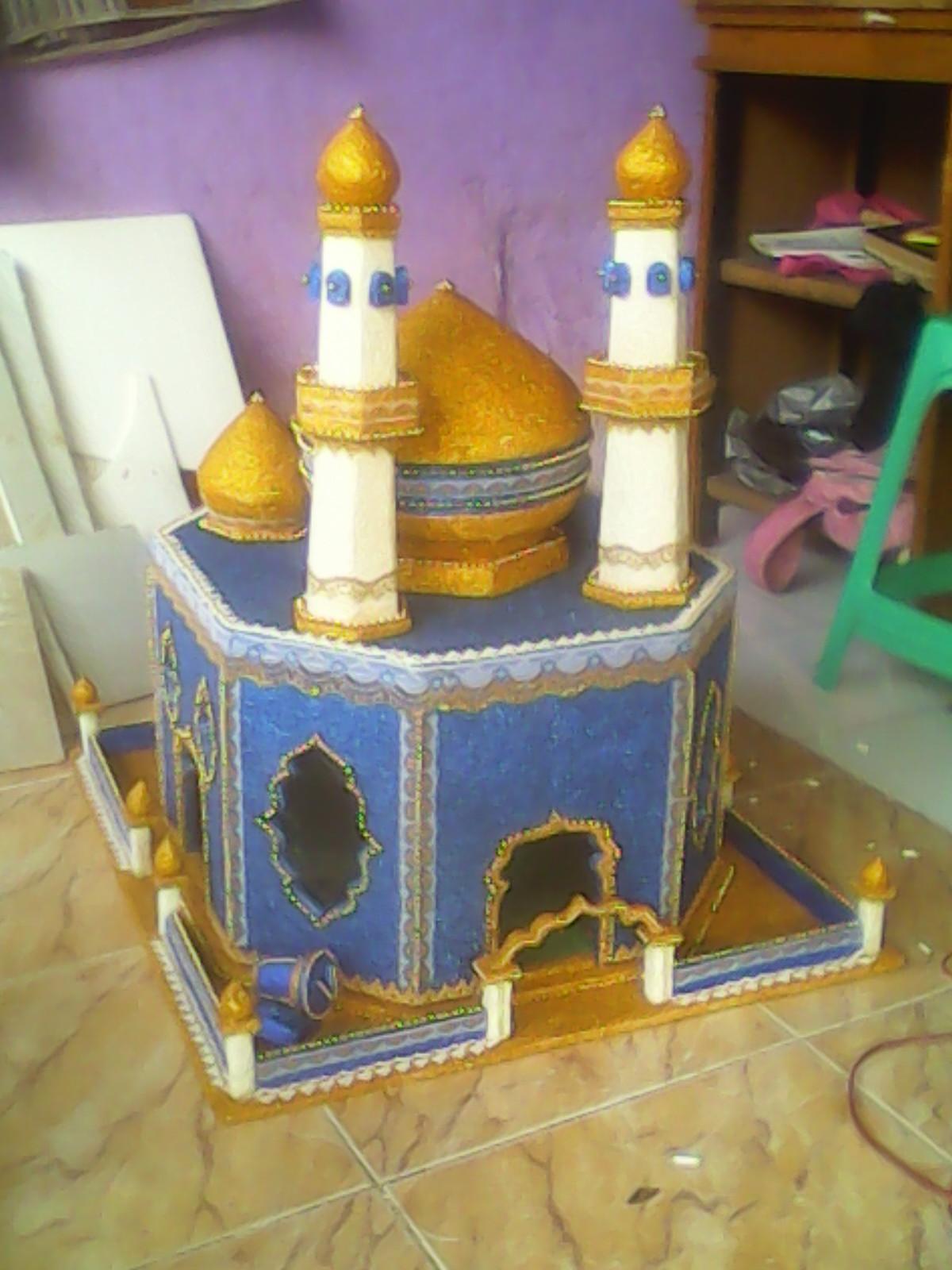 Miniatur Masjid Dari Styrofoam : miniatur, masjid, styrofoam, Glitter's, Craft, Depok, Hantaran, Nikah, Parcel, Dekorasi, Ruangan, Hiasan, Ornamen, Aksesoris, Ramadhan, Fitri
