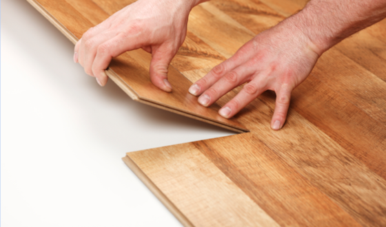 How To Use Glueless Laminate Flooring, Glueless Laminate Flooring Installation