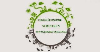 Cours fsjes (S5) Semestre 5 économie