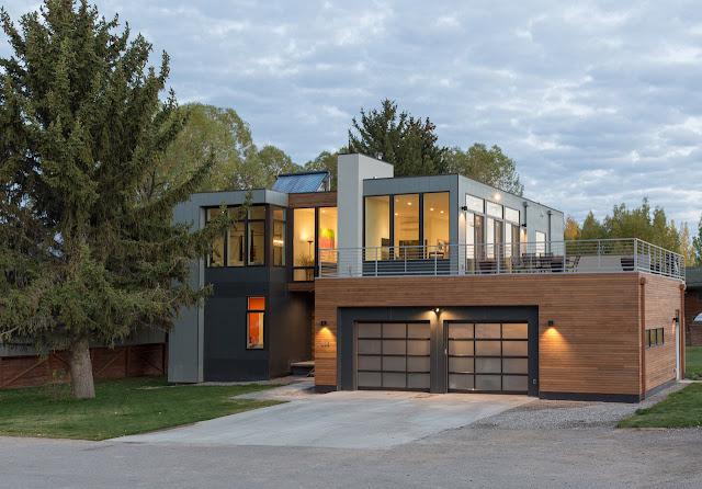 Contoh gambar rumah minimalis modern 2 lantai dalam gaya dan biaya murah