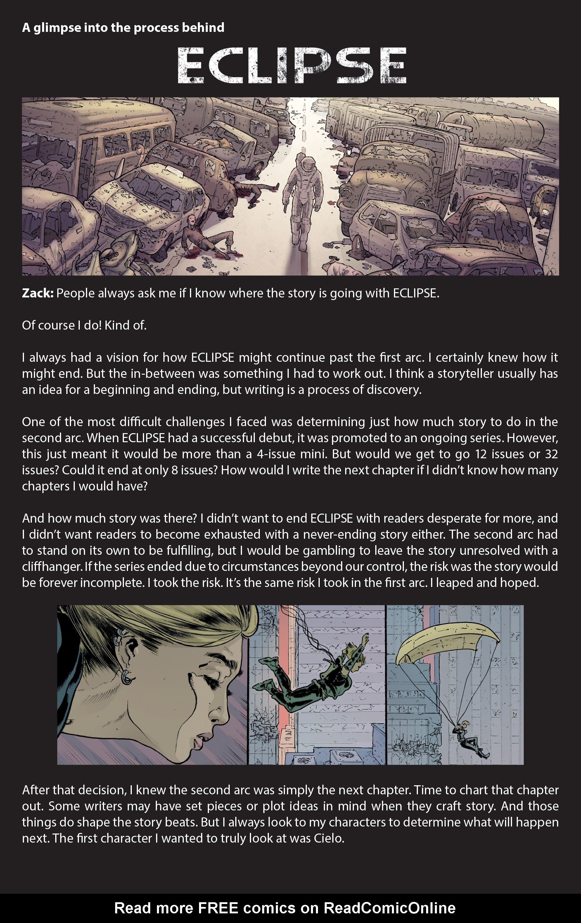 Read online Eclipse comic -  Issue #8 - 25