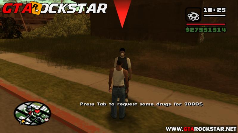 Mod Vender Drogas nas Ruas para GTA San Andreas