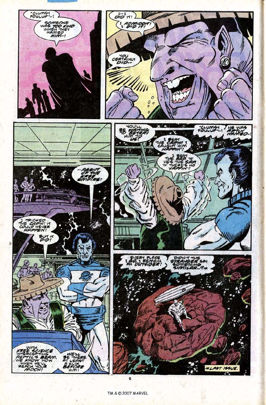 Read online Silver Surfer (1987) comic -  Issue #28 - 8