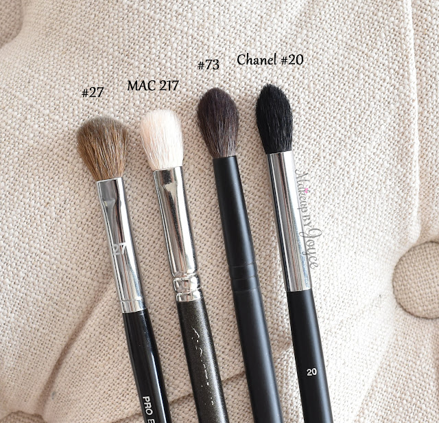 Sephora Collection Pro Blending Brush #27 Review #73 Crease Shadow