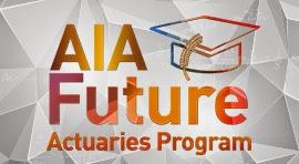 Beasiswa aktuaria dari AIA Future Actuaries