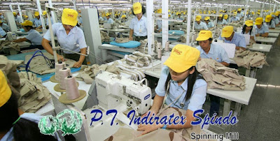 Lowongan Kerja Jobs : Security, Staff PPIC, Staff Purchasing, Staff Quality Assurance Min SMA SMK D3 S1 PT Indiratex Spindo Membutuhkan Karyawan/Karyawati Baru Seluruh Indonesia