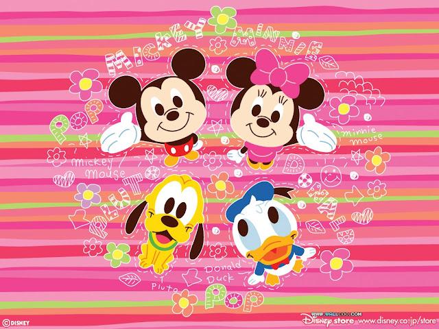 Para hacer invitaciones, tarjetas, marcos de fotos o etiquetas, para imprimir gratis de Bebés Disney.