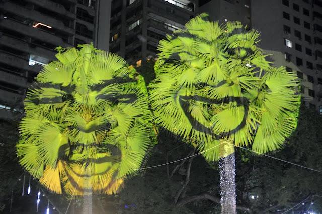 Espetáculo de Natal tem árvores falantes no Campo Grande