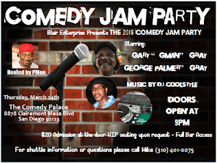 Comedy Jam Party