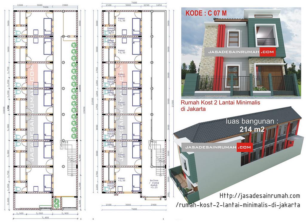 bagus rumah modern 2 lantai