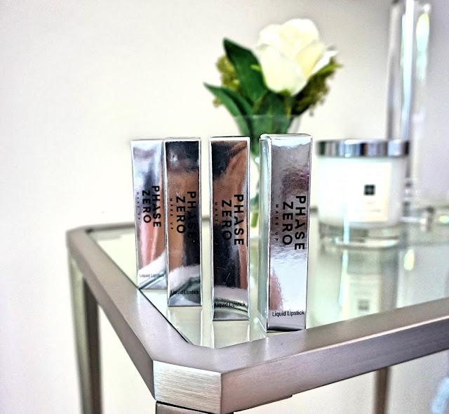 Phase Zero X LMB Liquid Lipsticks; Swatches & Review