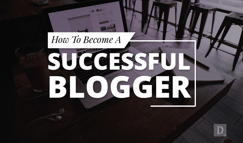 5 Tips On How To Become A Successful Blogger - #infographic