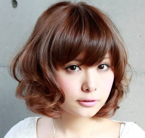 model rambut pendek gemuk keriting