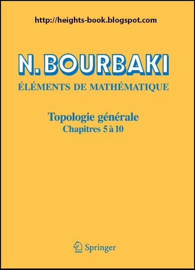 Télécharger Livre Gratuit Topologie Générale, chapitres 5 à 10 pdf