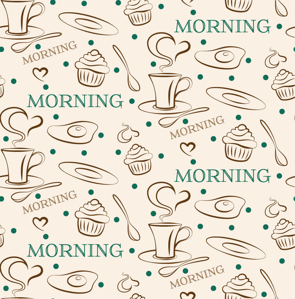 Good morning pattern