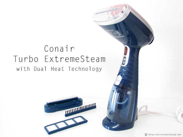 Conair Turbo ExtremeSteam with Dual Heat Technology Handheld Fabric Steamer Review