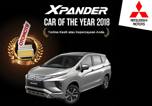 Xpander car of the year 2018