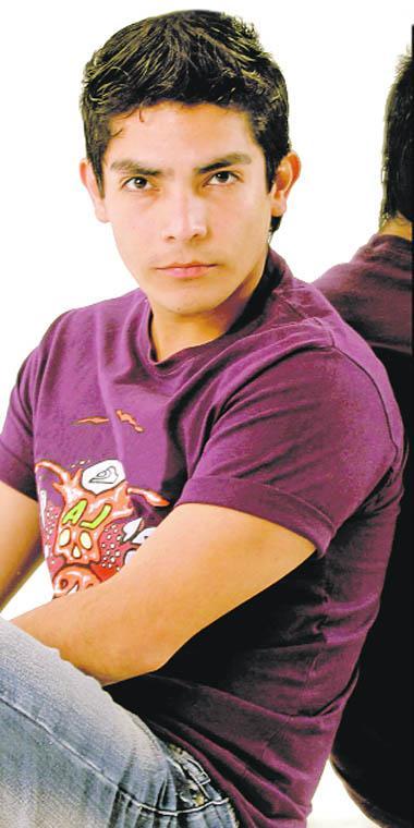 Foto de Erick Elera en sus inicios de su carrera