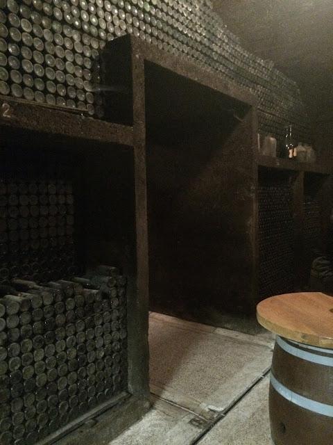 klet brda special reserve wine cellar