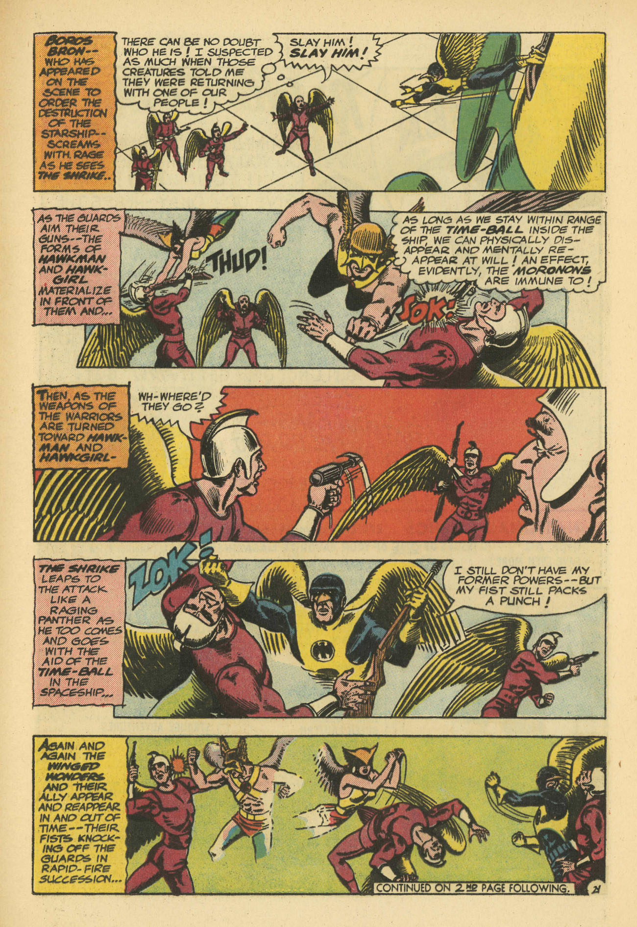 Hawkman (1964) issue 11 - Page 29
