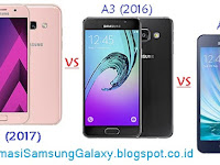 Perbandingan Galaxy A3 (2017) vs Galaxy A3 (2016) vs Galaxy A3