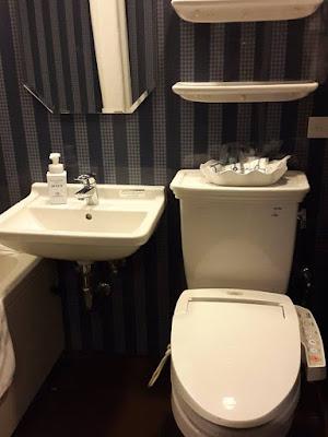 Toilet in Hotel Monterey Grasmere Osaka Japan
