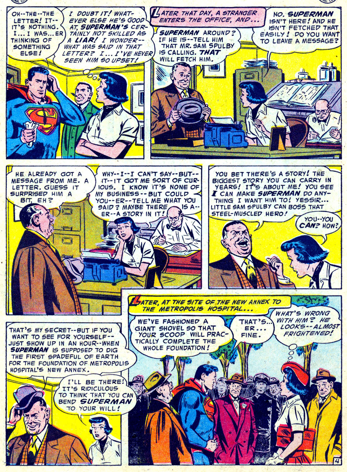 Read online Action Comics (1938) comic -  Issue #204 - 5