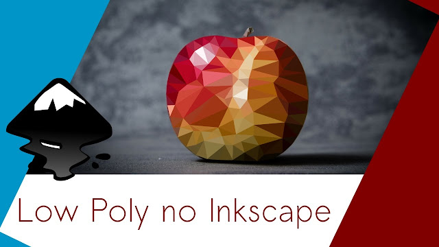 Aprenda a criar o efeito Low Poly no Inkscape