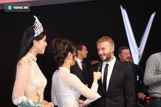"""David Beckham phải thốt lên rằng """"Quá tuyệt"""""""