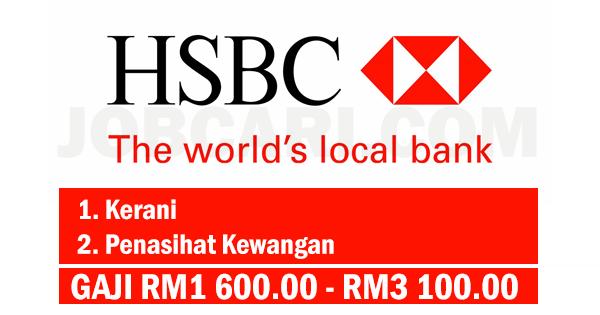 JAWATAN KOSONG DI HSBC
