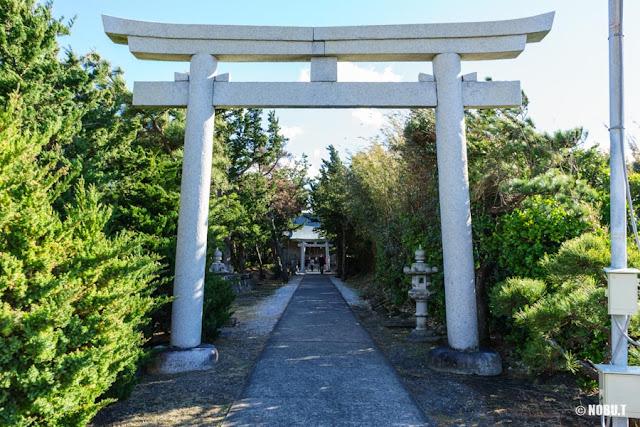 野島崎・厳島神社