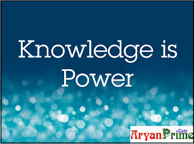 what is knowledge, knowledge is power