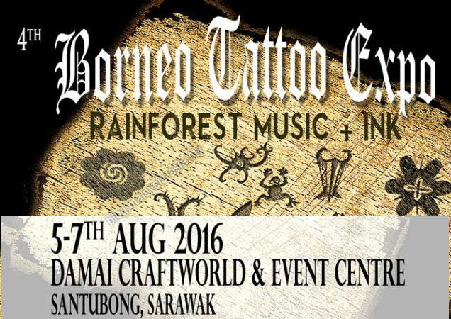 Sarawak Borneo Tattoo Expo