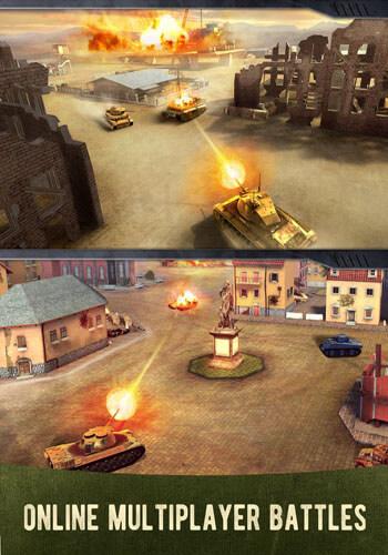 العاب حرب الدبابات