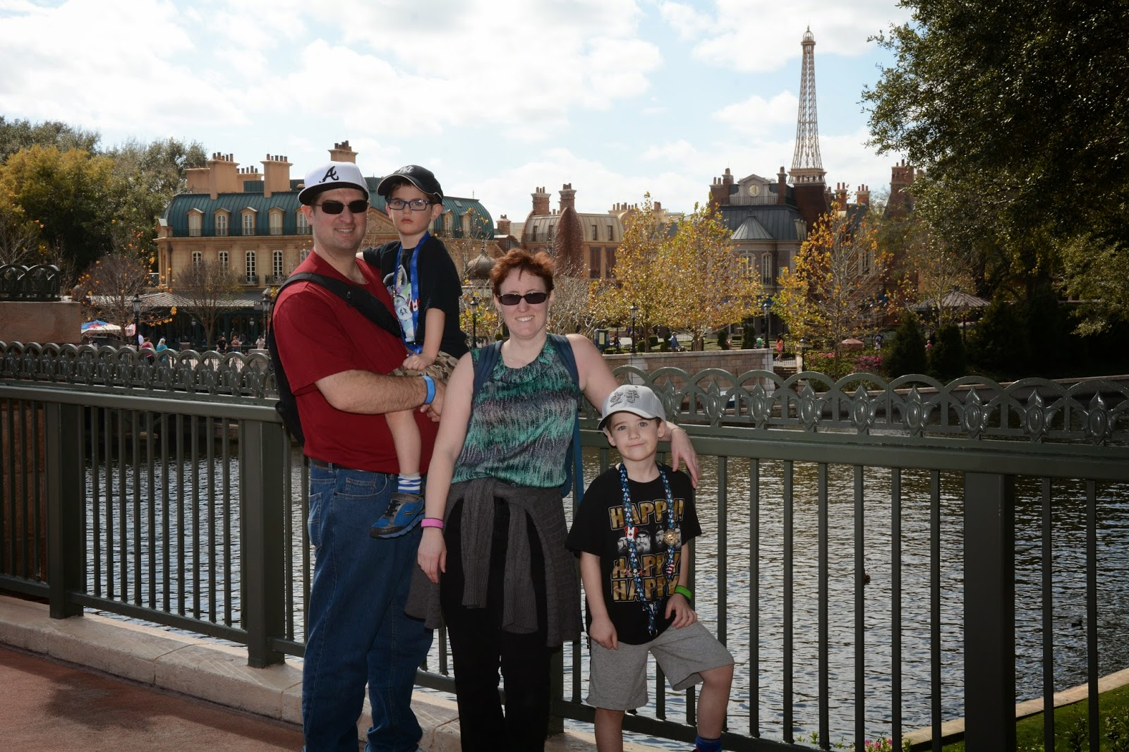 EPCOT world showcase, paris, eiffel tower, france, disney, florida, family vacatio