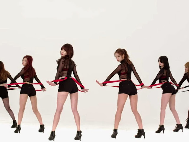Girl's Day Suspender Butt Dane