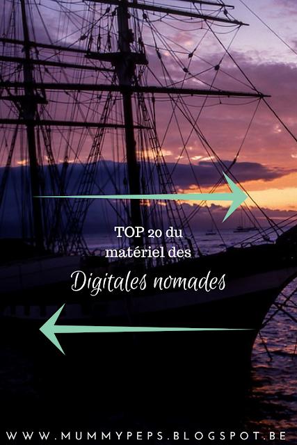 digital nomade matériel indispensable