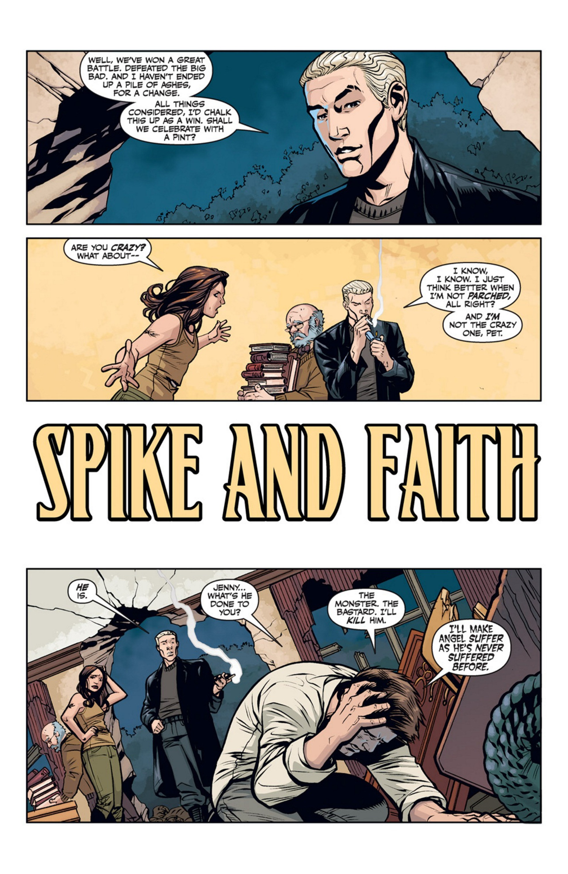 Read online Angel and Faith comic -  Issue #20 - 4