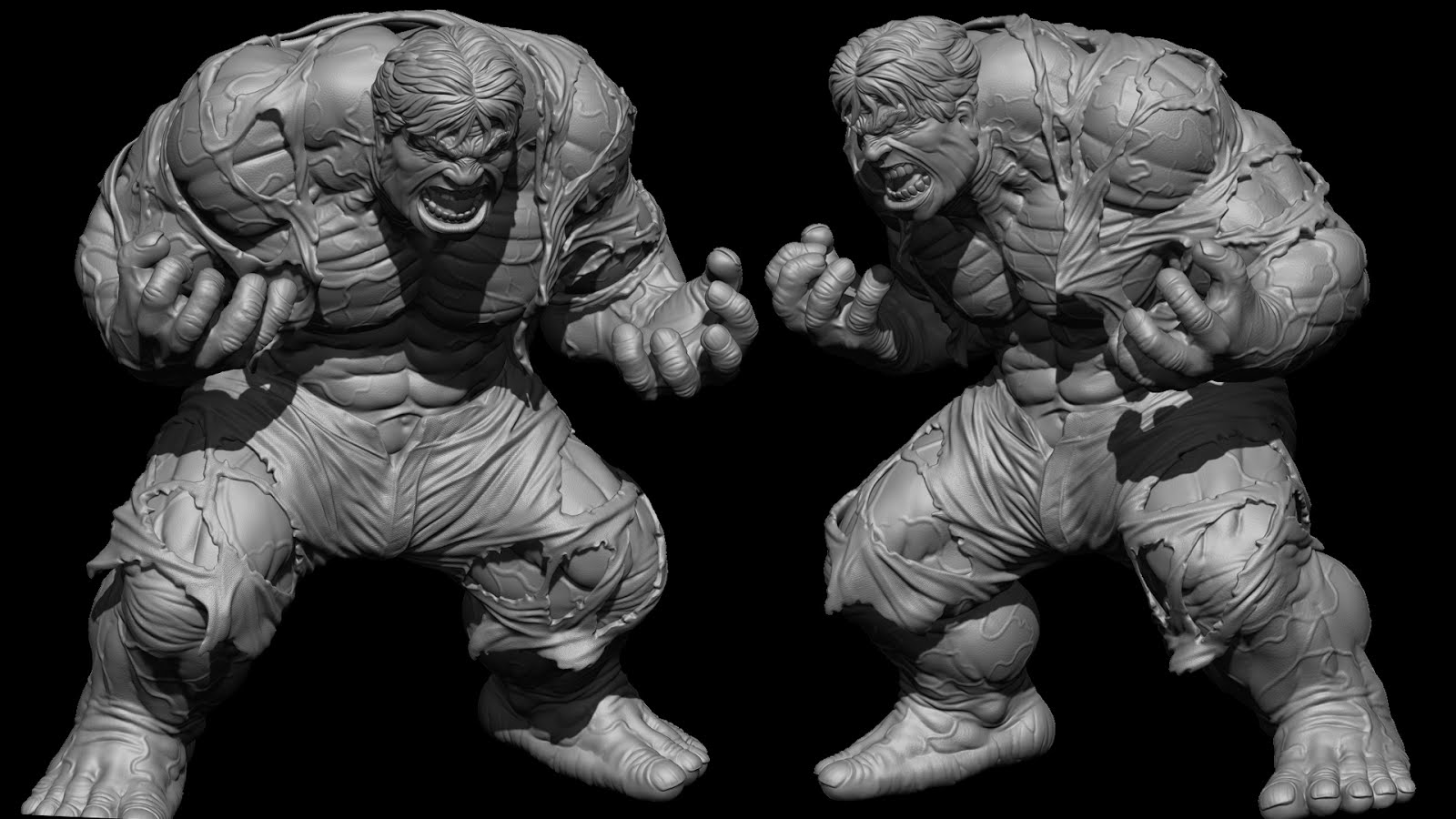 3d Wallpaper Singapore Miguel Hern 225 Ndez Urbina Hulk Transformation Contest