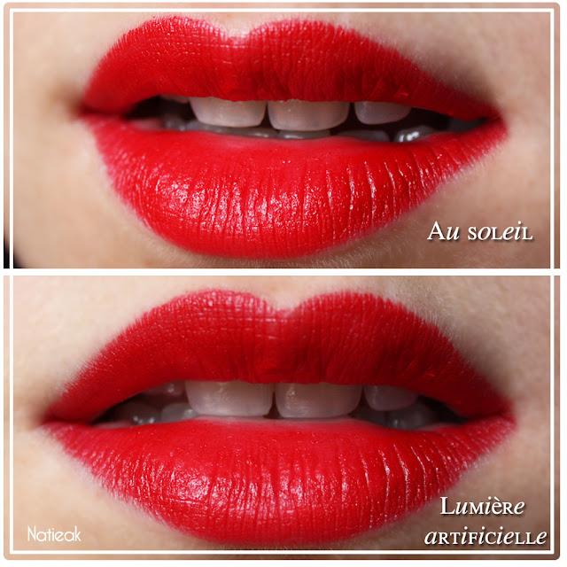 L Absolu Rouge De Lanc 244 Me Isabella Matte Du Glamour Sur