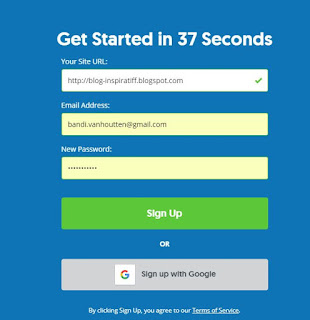 Form Sign Up Sumome.com