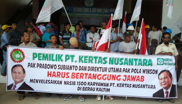 Perusahaan Tak Bayar THR, 1.100 Karyawan PT Kertas Nusantara Mengadu ke Kemnaker. Ternyata Begini Kronologi Utangnya!