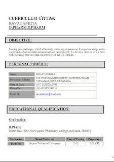 resume format for pharmacy freshers free pharmacist resume