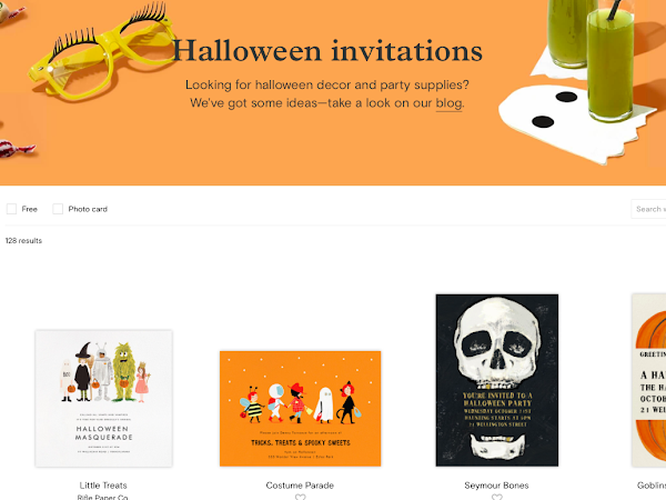 Paperless Post Halloween inspiration *