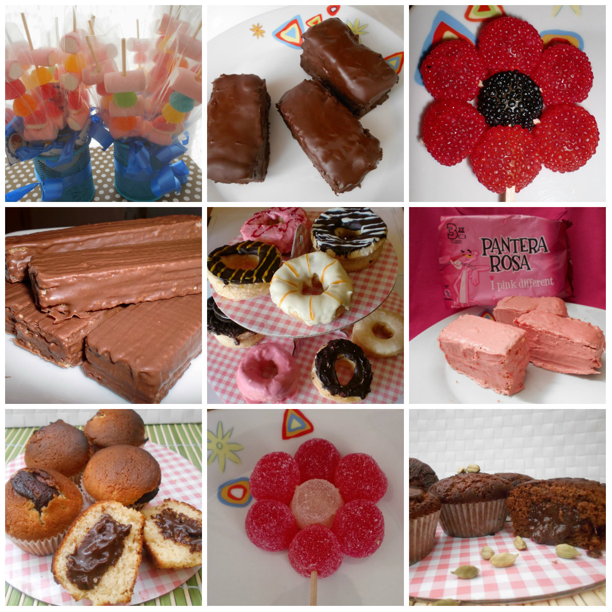 Ideas para mesas dulces mayte en la cocina for Decoracion postres
