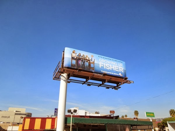 Growing Up Fisher season 1 billboard