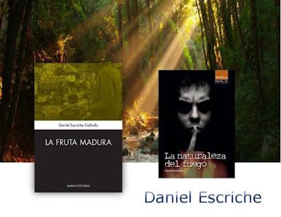 autores Daniel Escriche y sus dos novelas publicadas